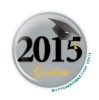 """2015 Graduate"" 2.25 Button - stock # 1090"