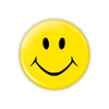 "Smiley 1.25"" Button   - stock # 623"