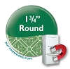 "Custom Button Fridge Magnets 1.75"" Round"