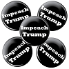 "Impeach Trump - for 5 Pack of 1.5"" Buttons"