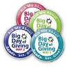 """Ask Me About Big Day of Giving!"" Button   - stock # 2117"