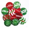 "Set of 12 Christmas Collection - 2.25"" Button  - stock # 790"