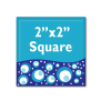 "Custom Button - 2"" Square"