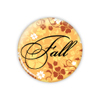 "Fall Harvest 1.25"" Button    - stock # 627"