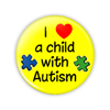 "Autism Awareness 1.75"" Button  - stock # 613"