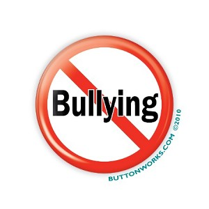 "No Bullying 2.25"" Button  - stock # 846"