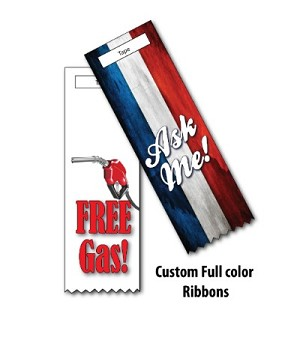 "Custom Full Color Ribbons - 1 5/8"" x 6"""
