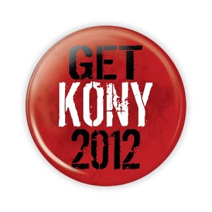 "2.25"" Get Kony 2012 Button  - stock # 840"