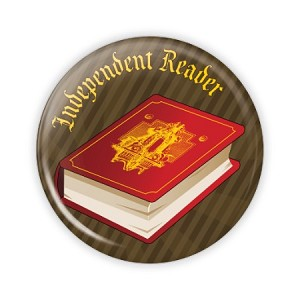 "Independent Reader 2.25"" Button  - stock # 761"