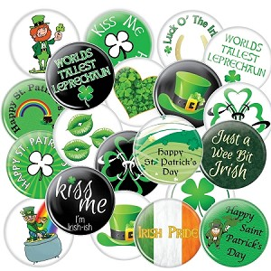 Saint Patrick's Day | Assorted Button Set