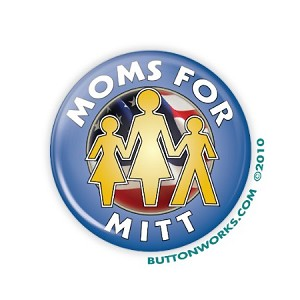 "2.25"" Moms for Mittt Button  - stock # 845"