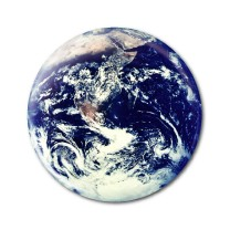 "Earth Day 2.25"" Button  - stock # 607"