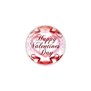 "Happy Valentines Day 1.25"" Button  - stock # 631"