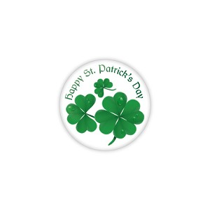 "Happy St. Patricks Day 1.25"" Button   - stock # 634"