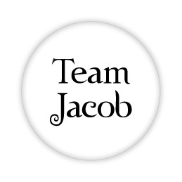 "Team Jacob - 2.25"" Button  - stock # 689"
