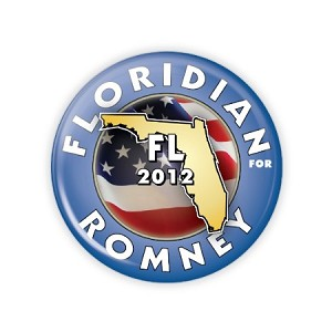 "2.25"" Mitt Romney (Available in every U.S. State) Button  - stock # 810"