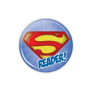 "Super Reader SMALL 1.5"" Button  - stock # 773"